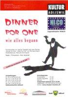 Dinner For One Programm